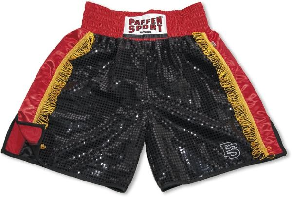 Paffen Sports Pro boxer shorts black red gold