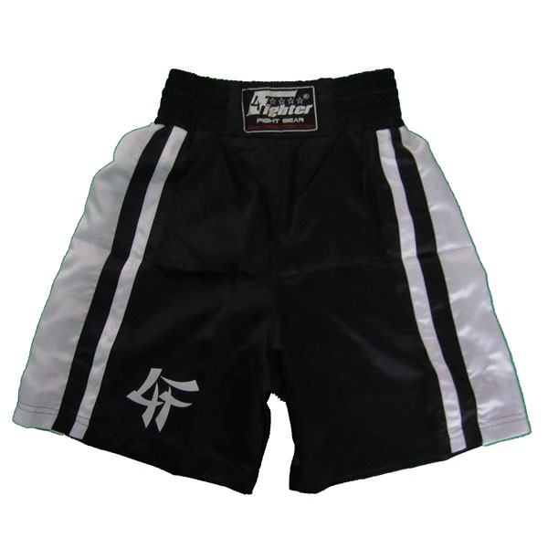 4Fighter Boxingshorts black 4FBS-1