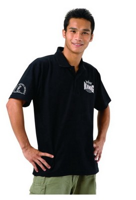 King Polo Shirt negro / PL-K